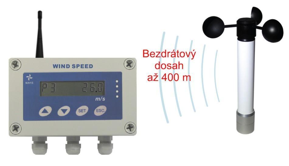 Bezdrátový měřič větru WSM W300/pulse