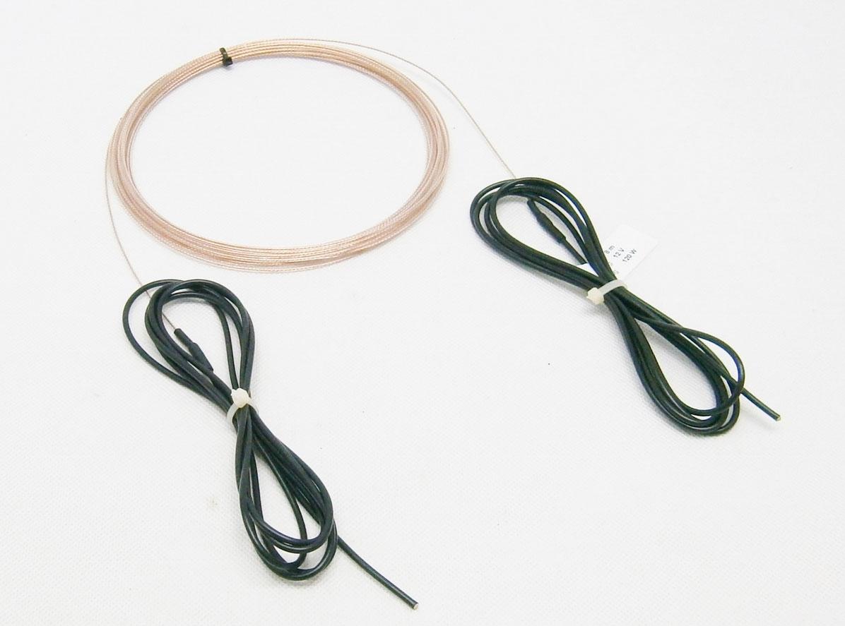 12V/ 120W topný kabel (8 metrů) TF502