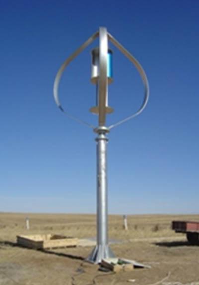 Větrná axiální elektrárna DS 3000 W