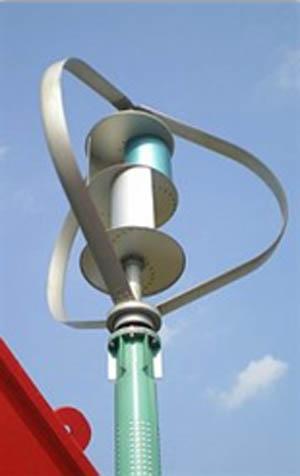 Větrná axiální elektrárna DS 1500 W
