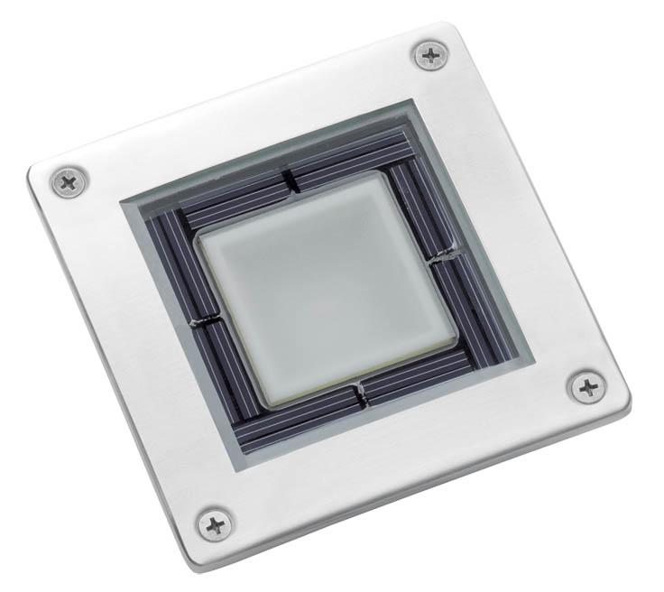 Solární podlahové osvětlení