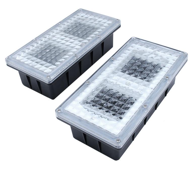 Solární dlaždicové osvětlení (sada 2 světel)