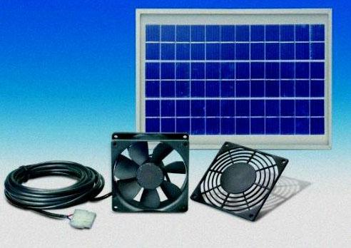 Solární větrací systém