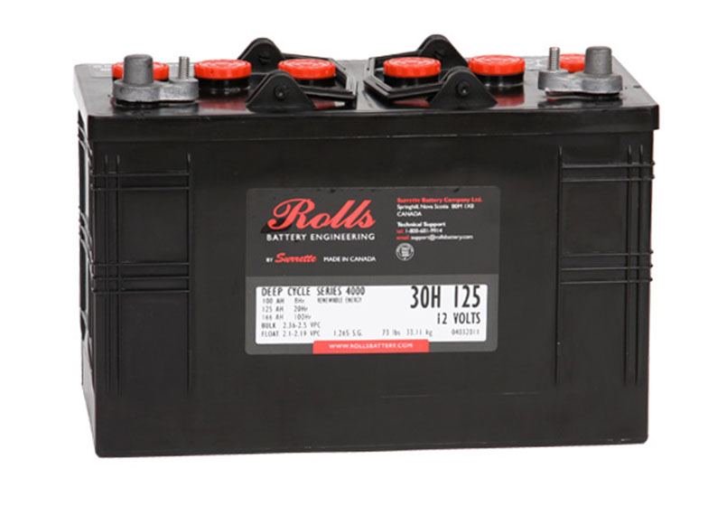 Baterie Rolls 4000 30H125