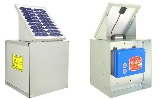 Solární elektrický ohradník WZG10