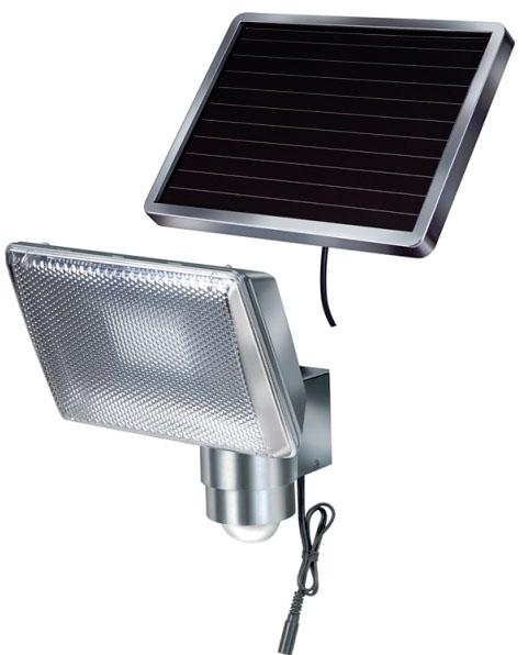 Solární senzorové 80 LED osvětlení chromové