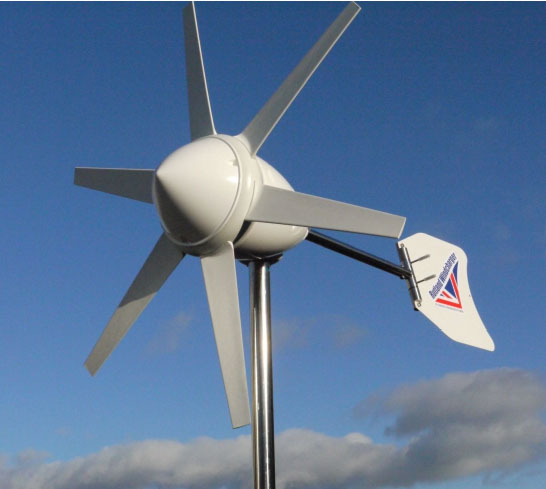 Malá větrná elektrárna Rutland FM910 - 4 aplikace