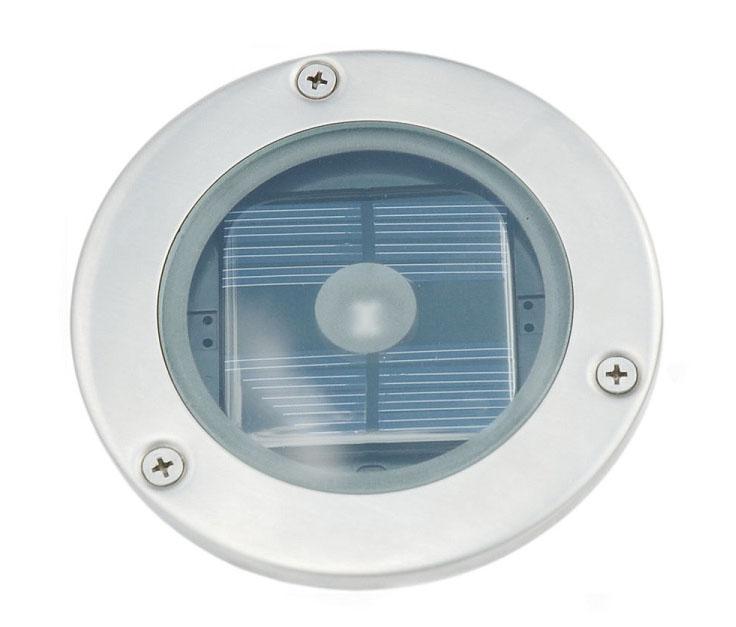 Solární kulaté podlahové osvětlení