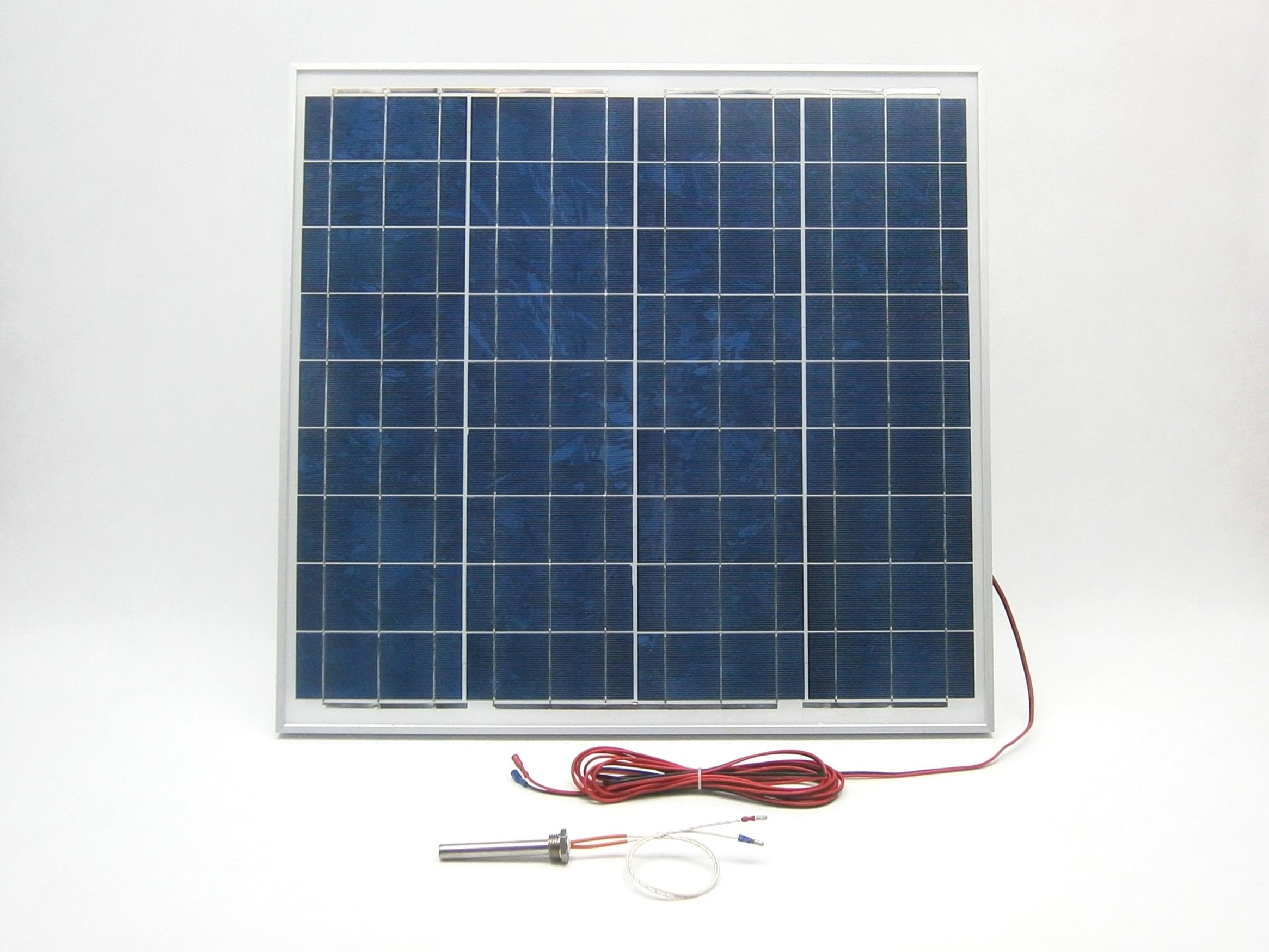 Solární sytém pro ohřev SOV57