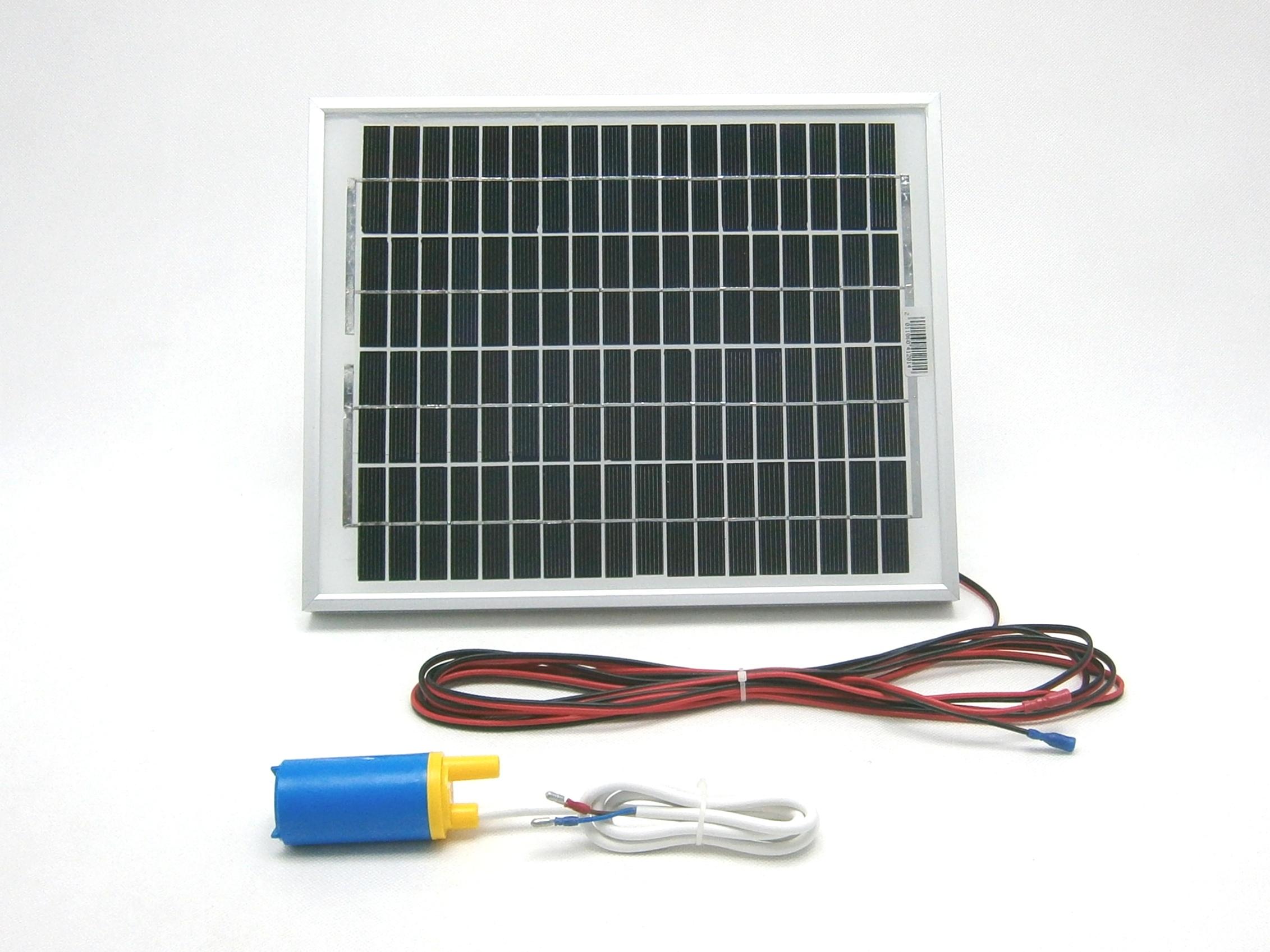 Solární systém pro cirkulaci vody SCV61