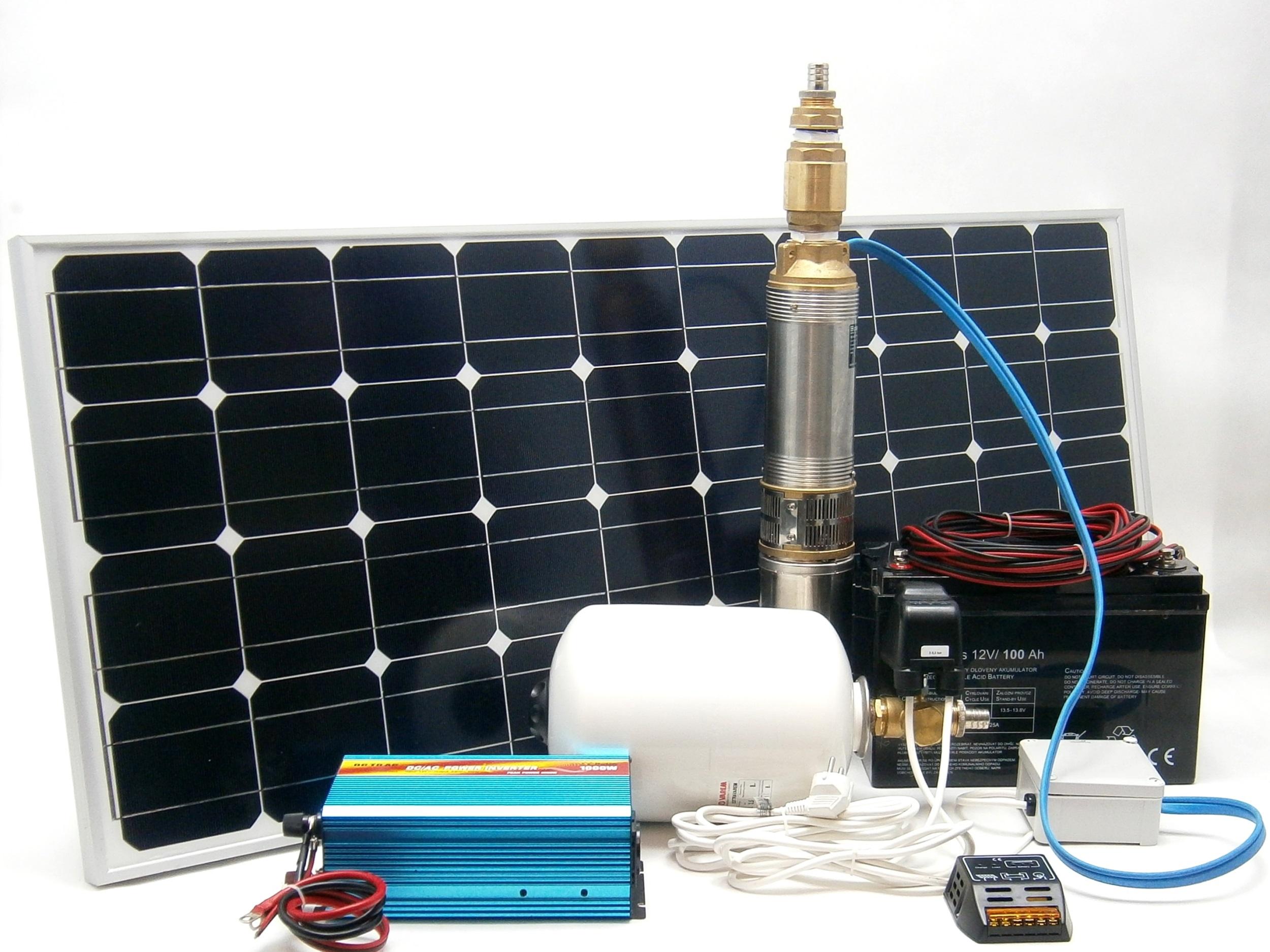 Solární automatická vodárna SV139