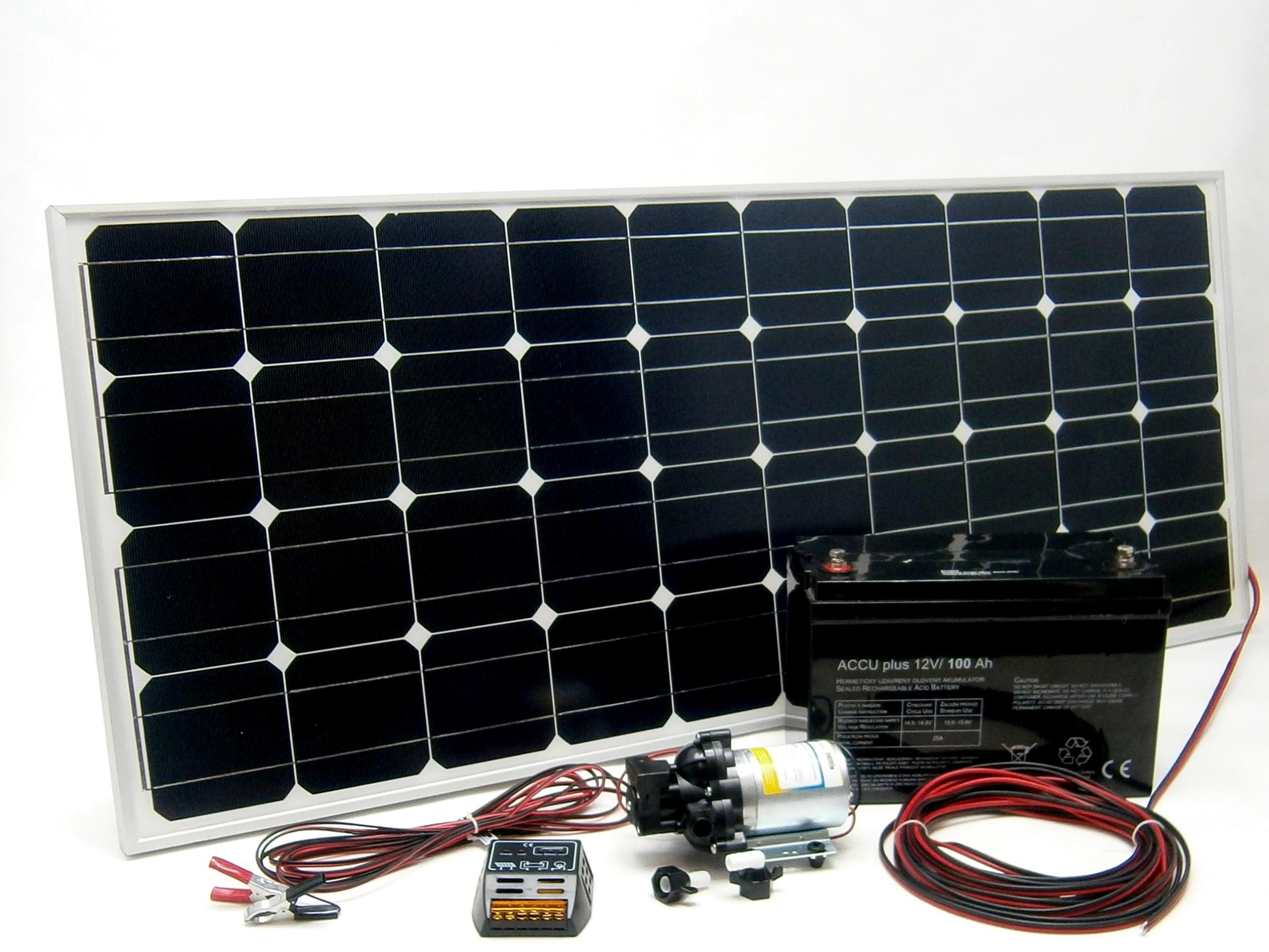 Solární automatická vodárna SV140