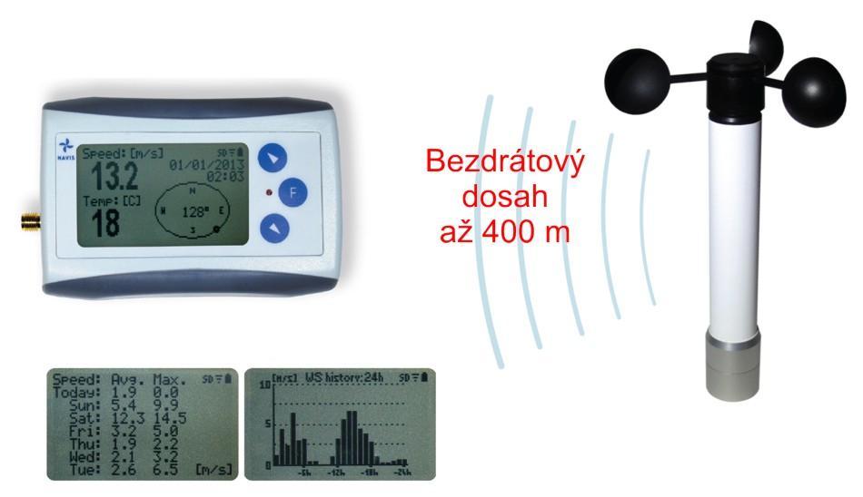 Bezdrátový měřič větru WL10-WS
