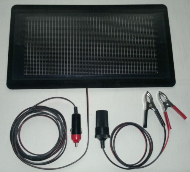 Solární nabíječka autobateirií HW Octavia (12V/4Wp)