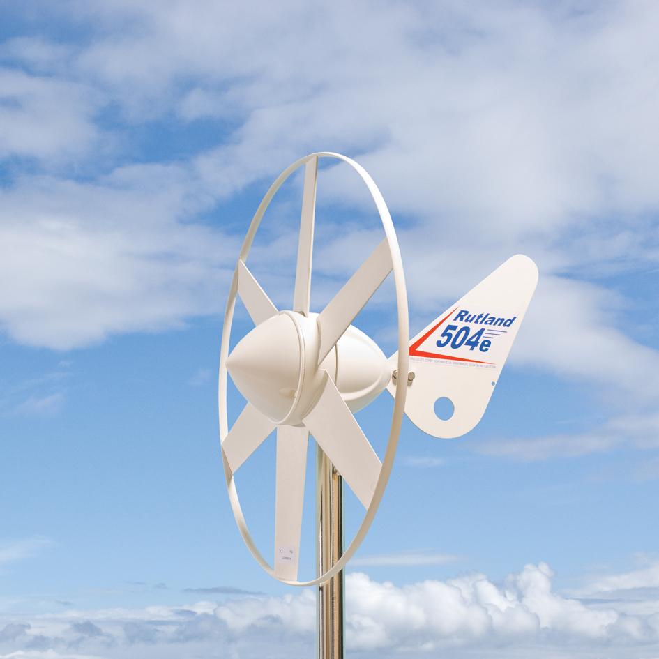 Malá větrná elektrárna Rutland 504 e-Furl 12V