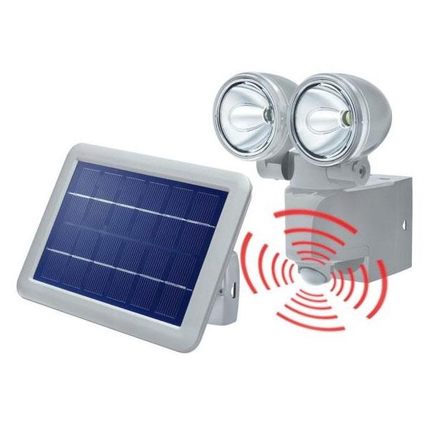 solární, světlo, reflektor, DUO, PIR,