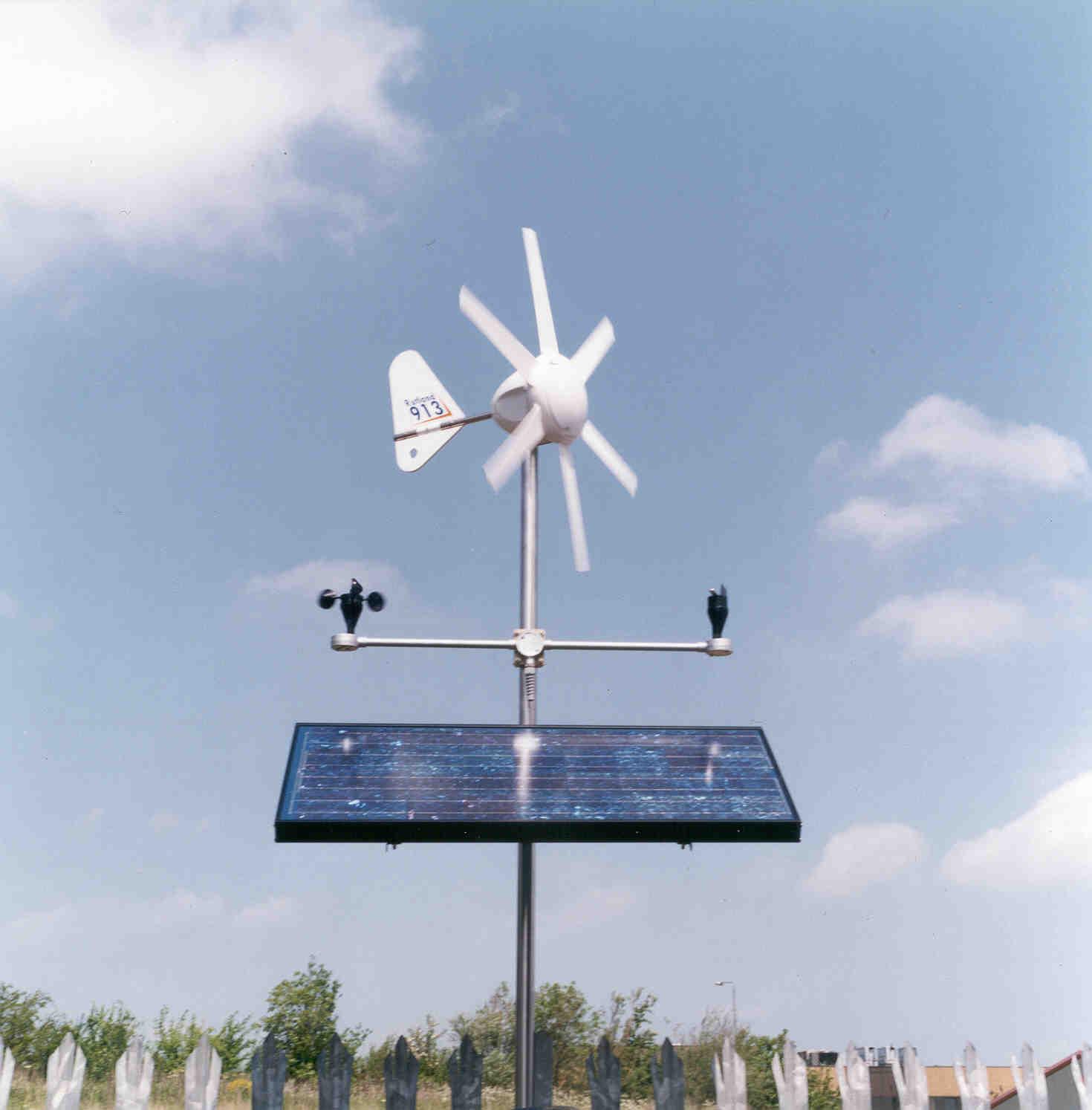 Vzdělávací větrná turbína+solární sada Green Powered Pro