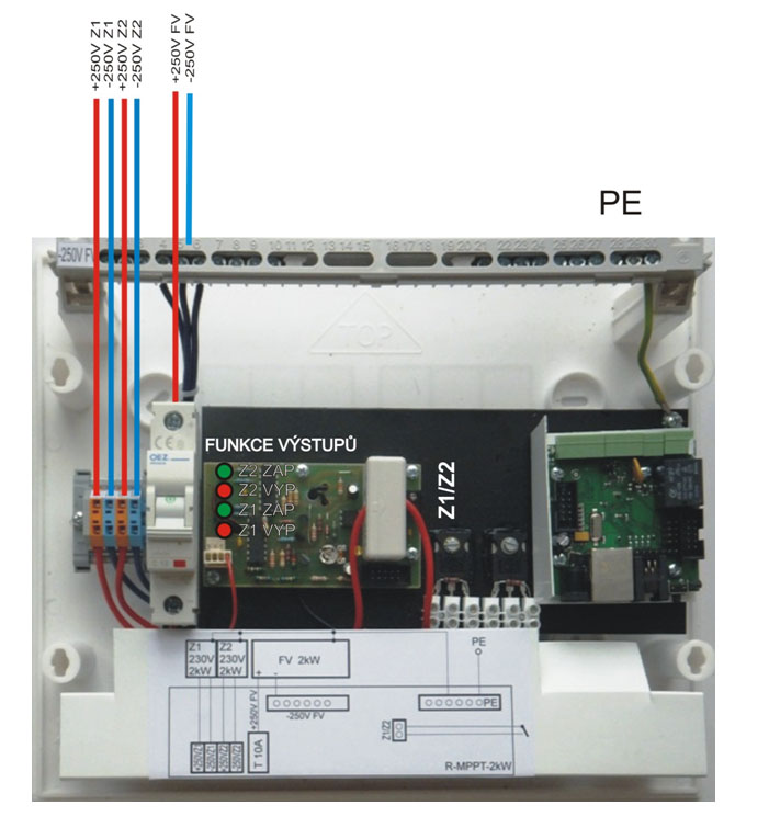 MPPT měnič pro fotovoltaické panely