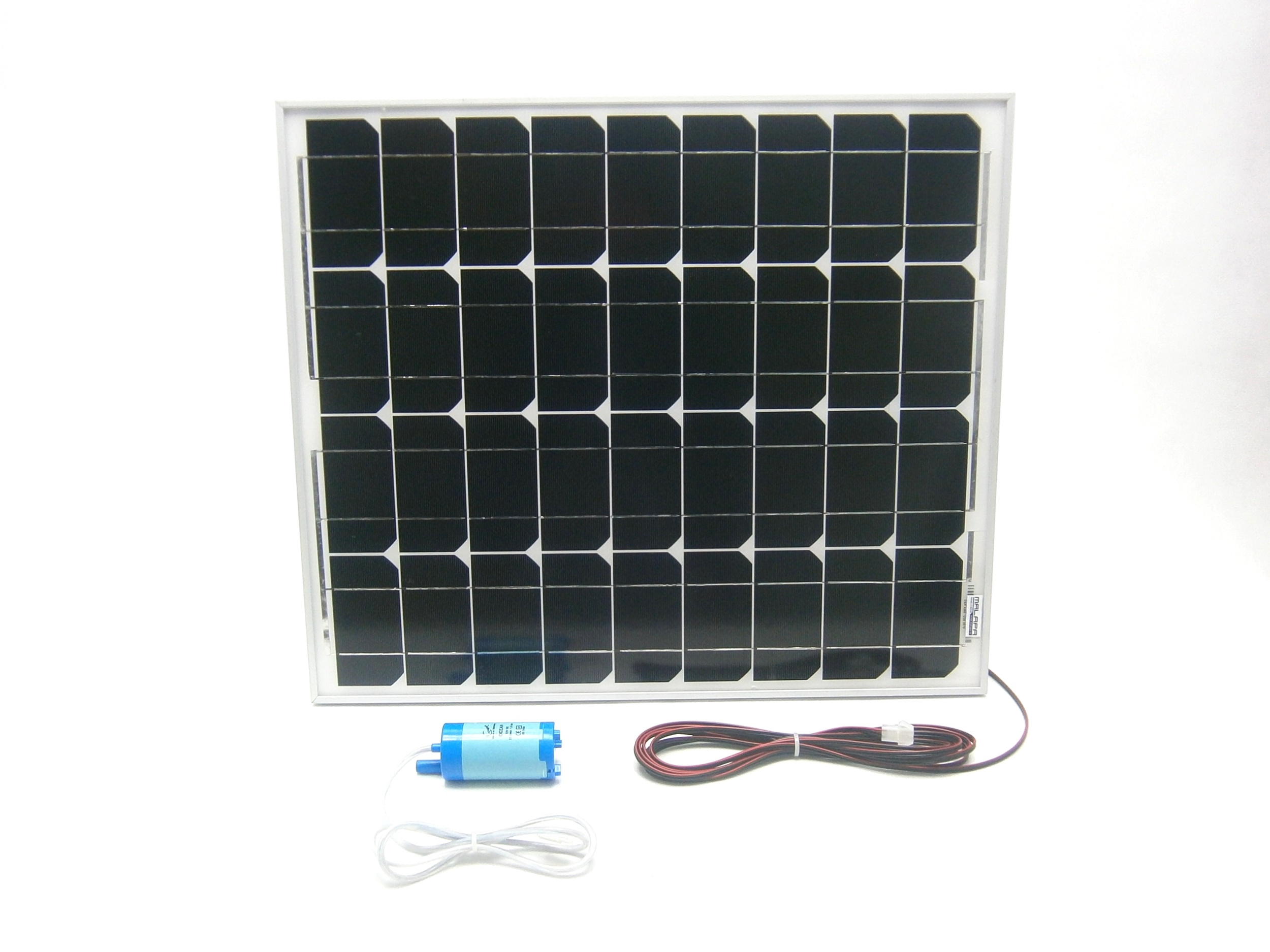 50W solární systém s čerpadlem 20l/ min, monokrystalický SO62
