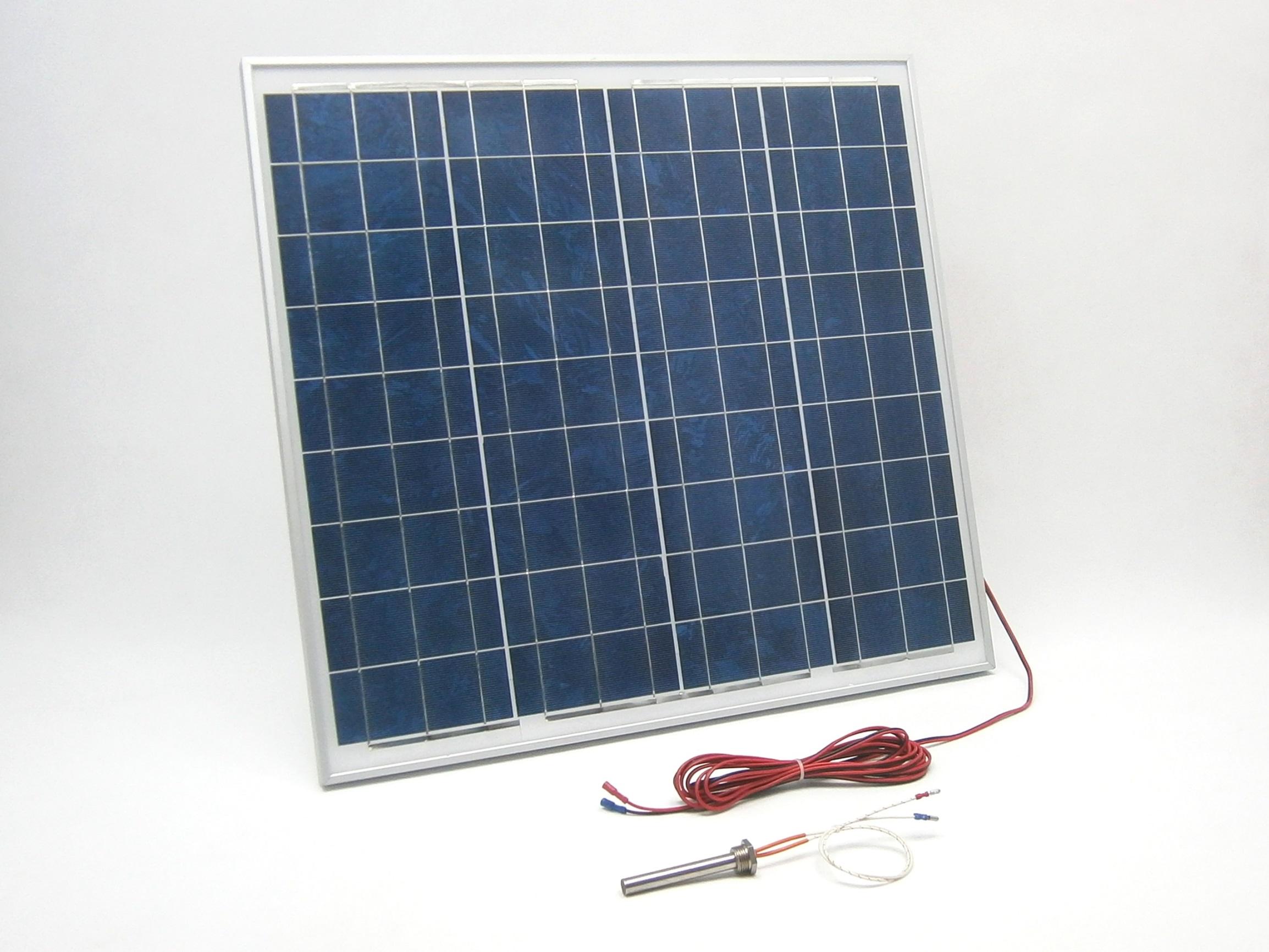 50W/ 12V solární systém pro vyhřívání, monokrystalický SO57