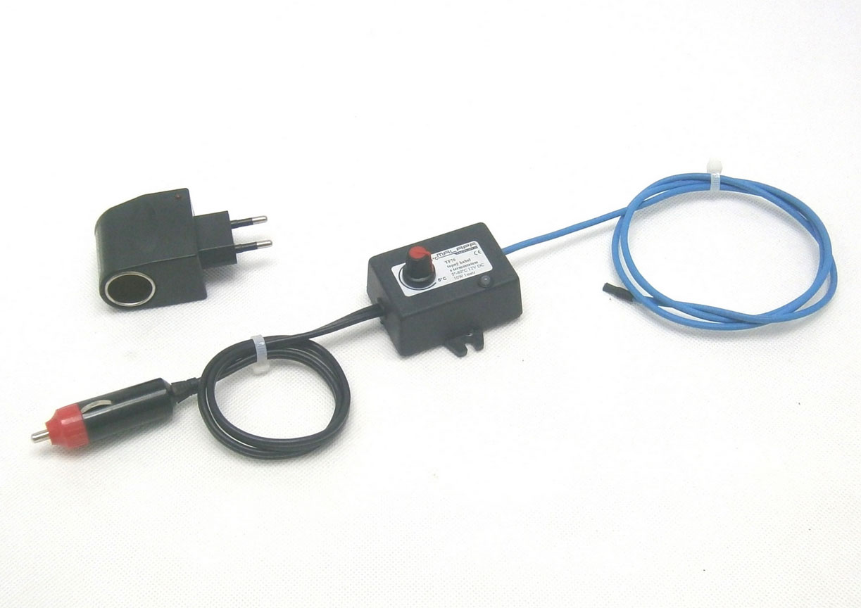12V/ 10W topný kabel s termostatem (1metr) TF76