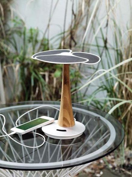 Ginkgo solární stromek