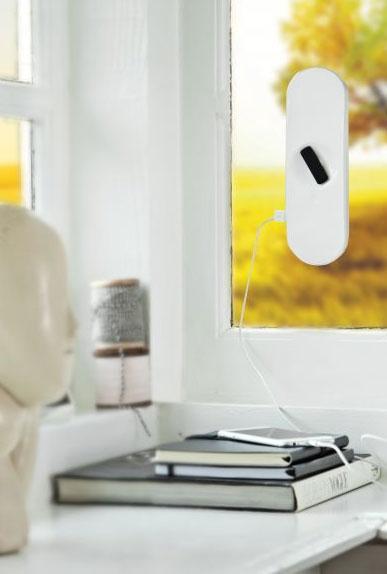 XD Design Sun Solo, solární nabíječka na okno