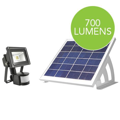 Solární senzorové osvětlení EVO SMD 700 lm