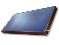 Velkoplošný solární kolektor SUNTIME 1.2 F (fasádní)